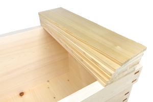 バラ型 幅20センチ位の板を並べて使用