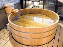 樽型木風呂・檜風呂