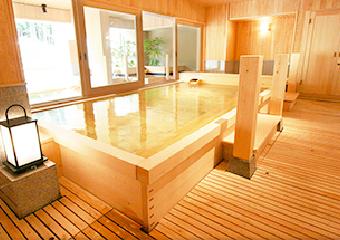 旅館、ホテル、入浴施設の大浴場・露天風呂
