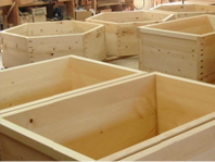 様々な形の木風呂が製作出来ます