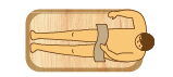 角丸型木風呂の価格表 角丸型1400