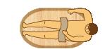 小判型木風呂の価格表 小判型1300