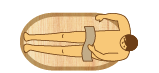 小判型木風呂の価格表 小判型1400