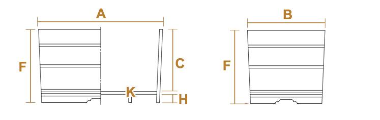 小判型のサイズ・設計図