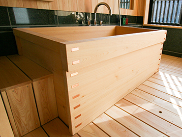 箱型木風呂