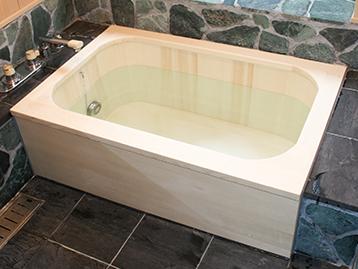 角丸デラックス木風呂