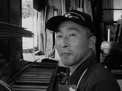 Naoki Kobayashi 養峰資材製作担当