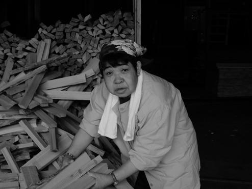 Tomiko Shimizu 桟積み担当