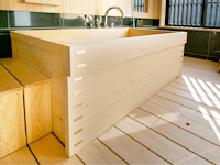 箱型木風呂・檜(ひのき)風呂