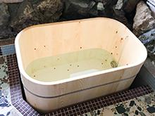角丸型木風呂・檜風呂