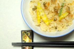 2.春を代表する食材あさりとタケノコで、ぜひ一足お先に春を味わいましょう。
