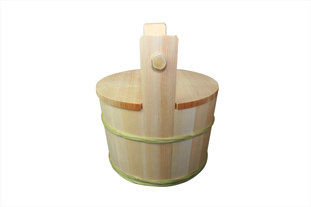 <受注生産品>茶道具として古くから使われている水屋桶。国内の自社工場で良質な木材を使用し制作しました。水屋道具としてご利用ください。