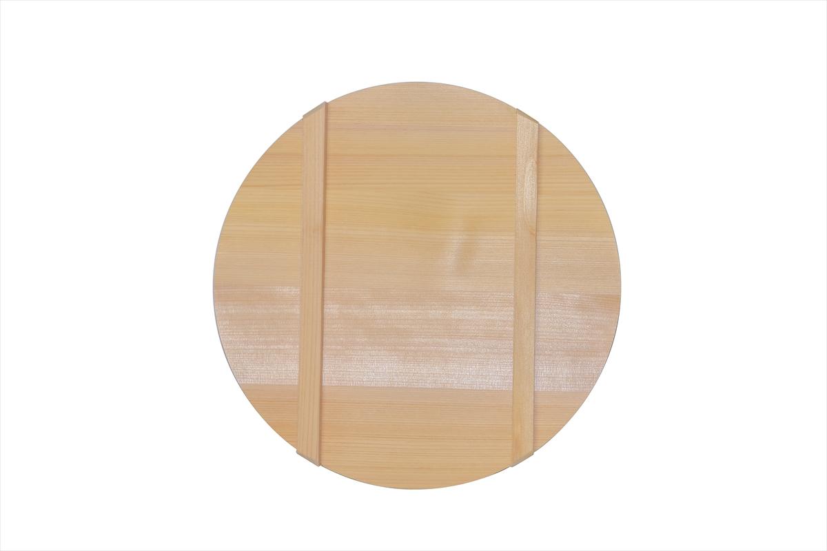 木曽さわらの寿司桶(飯切・飯台)の蓋30cm。寿司桶30cm(1尺)用です。