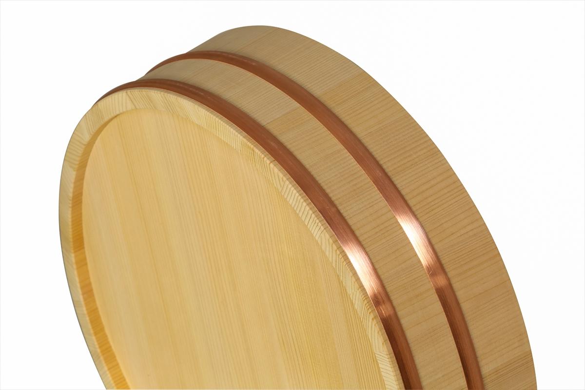 木曽さわらの寿司桶(飯切・飯台)36cm( 1尺2寸)。9~10人用です。