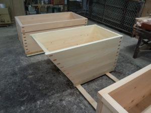 舟形の木風呂
