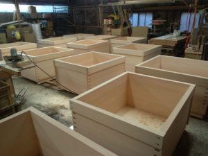 檜風呂の製作ピーク