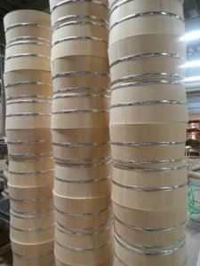 ステンレス箍の湯桶