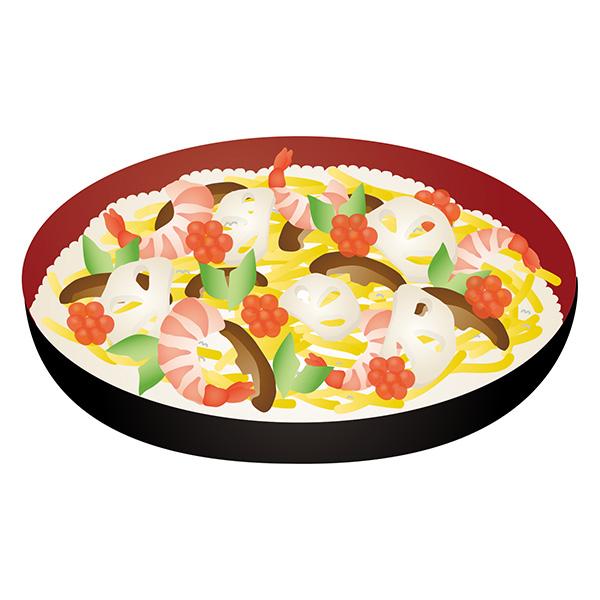 1.すし桶は大人数分のお寿司を手間なくさっと作れる、大変便利な道具です。